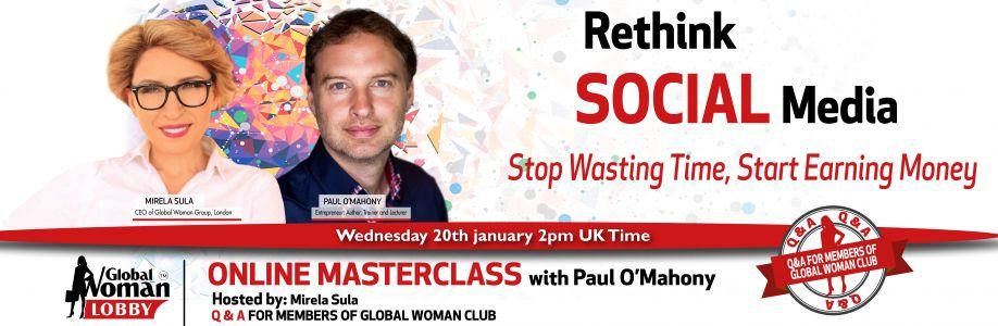 Online Masterclass with Paul O'Mahony