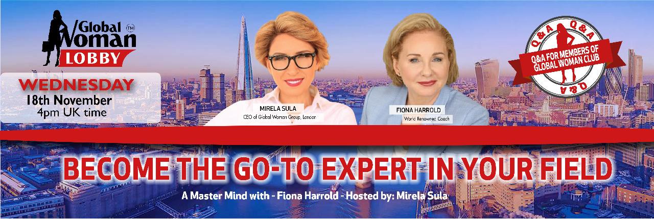 Online Masterclass with Fiona Harrold