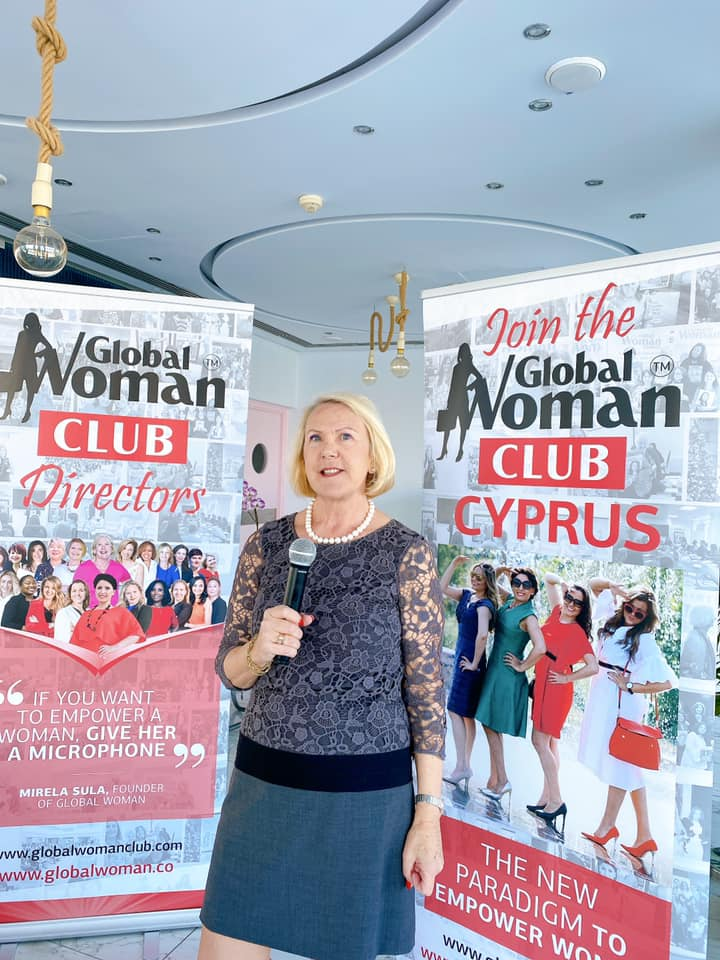 GLOBAL WOMAN CLUB Cyprus : BUSINESS NETWORKING MEETING – January
