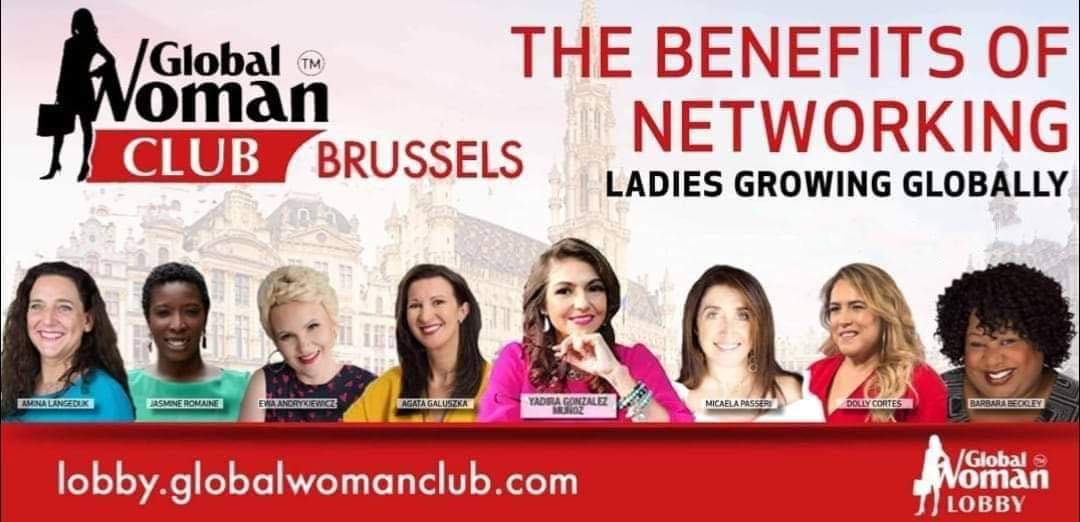 Global Woman Club Brussels - Virtual Networking Business Event Cover Image