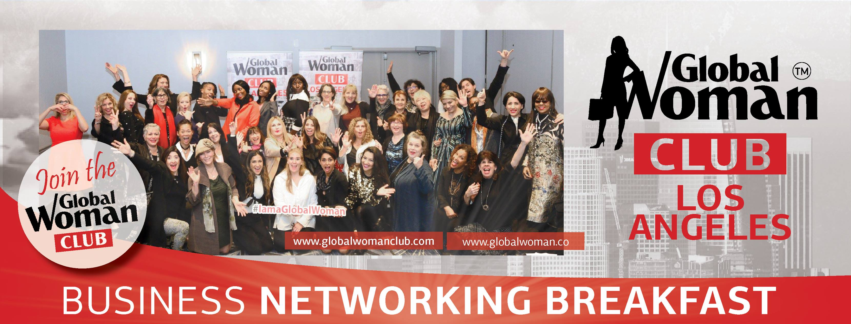 GLOBAL WOMAN CLUB Los Angeles : BUSINESS NETWORKING MEETING - January Cover Image