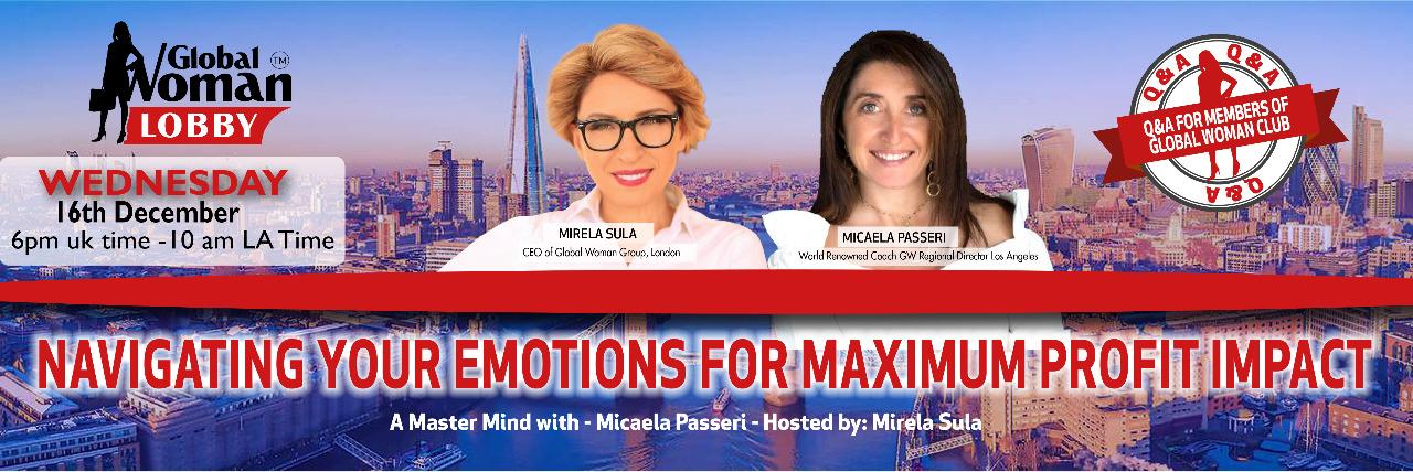 Emotional Money Mastery: Navigating Your Emotions for Maximum Profit Impact