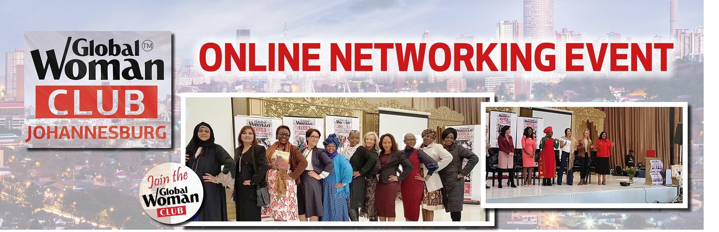 GLOBAL WOMAN CLUB Johannesburg: BUSINESS NETWORKING MEETING - January