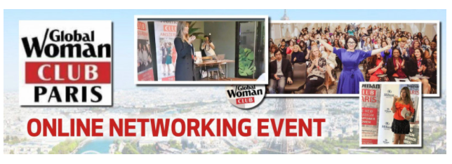 GLOBAL WOMAN CLUB PARIS: BUSINESS NETWORKING MEETING - JANUARY Cover Image