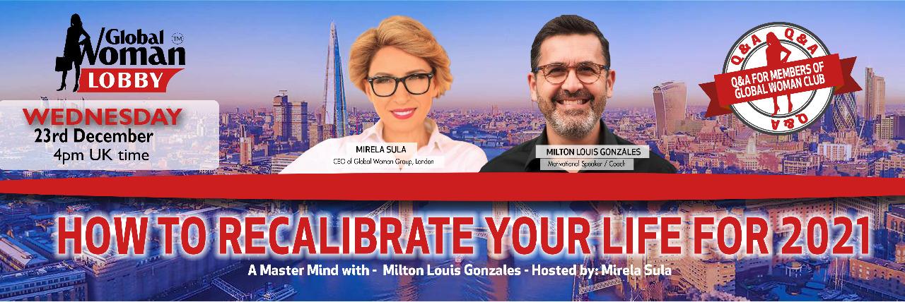 Online Masterclass with Milton Louis Gonzales