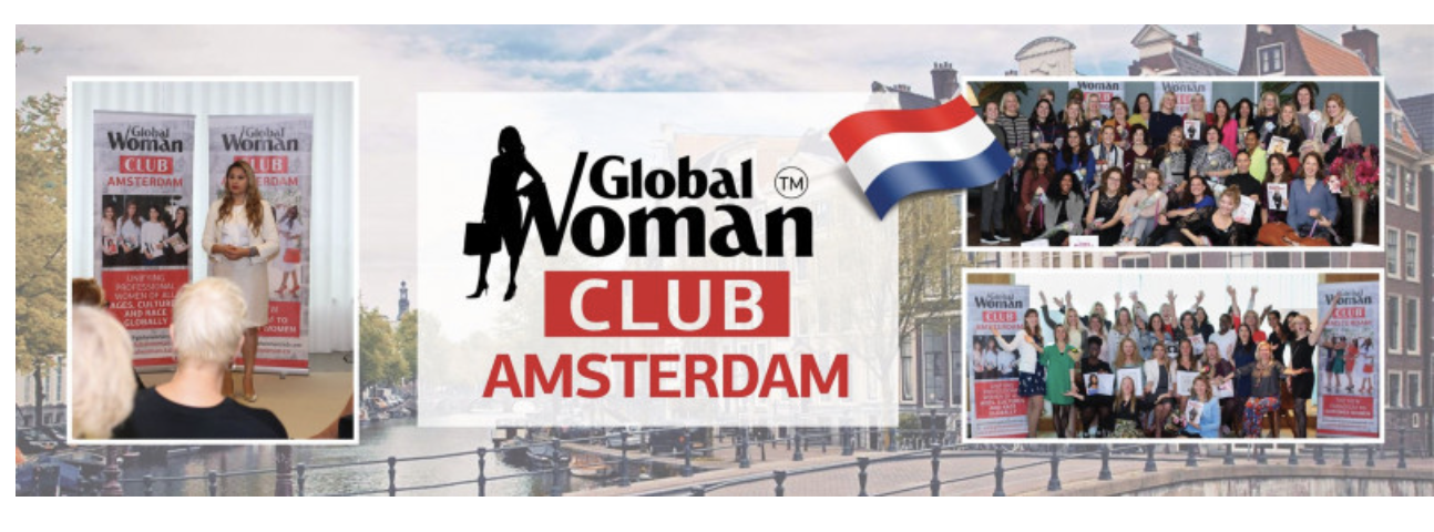 GLOBAL WOMAN CLUB AMSTERDAM : BUSINESS NETWORKING MEETING - OCTOBER