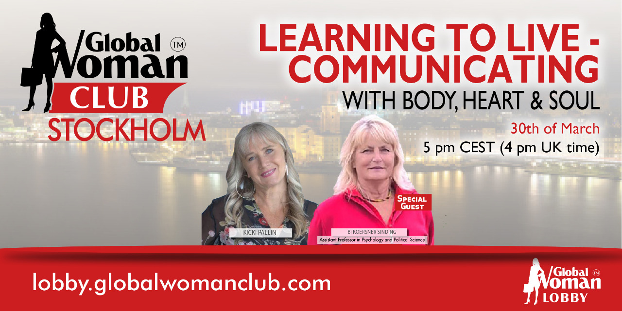 GLOBAL WOMAN CLUB STOCKHOLM: BUSINESS NETWORKING MEETING - MARCH