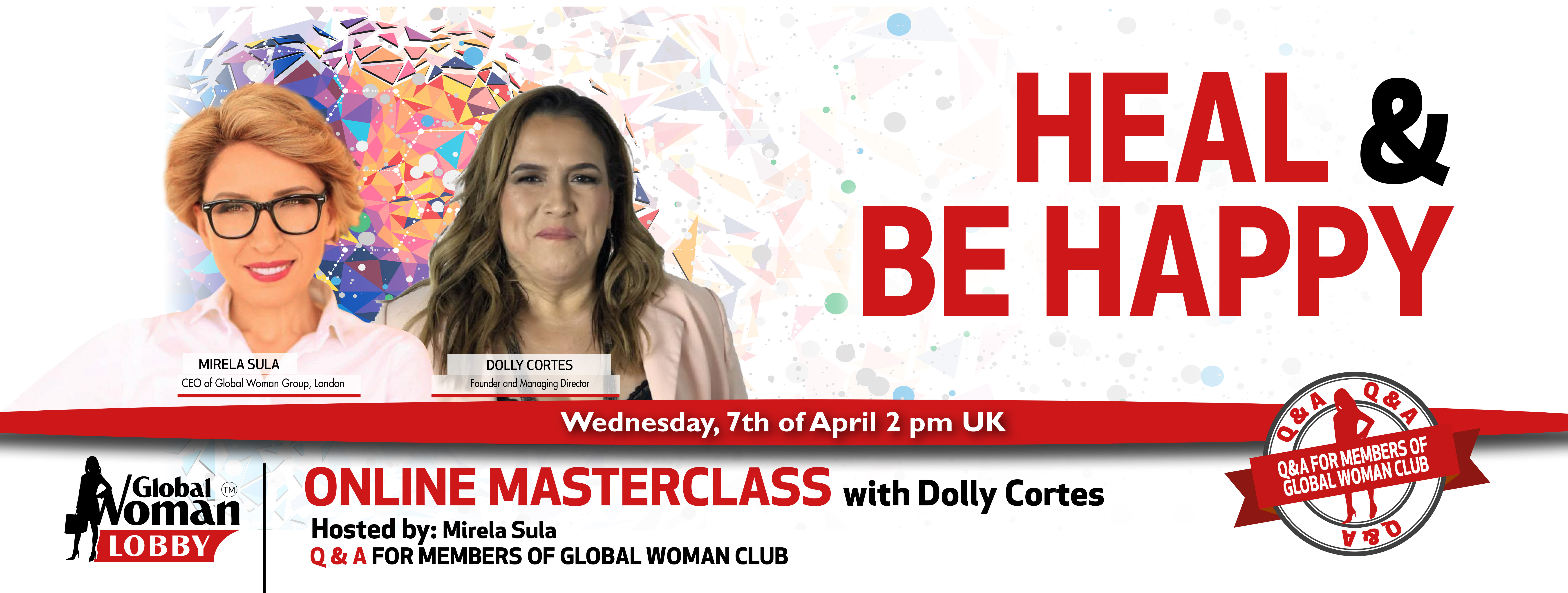 Online Masterclass with Dolly Cortes