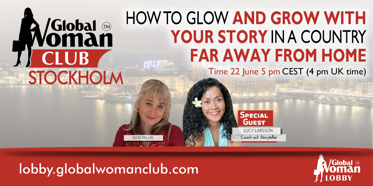 GLOBAL WOMAN CLUB STOCKHOLM : BUSINESS NETWORKING MEETING - JUNE