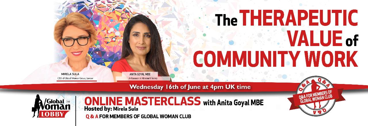Online Masterclass With Anita Goyal MBE