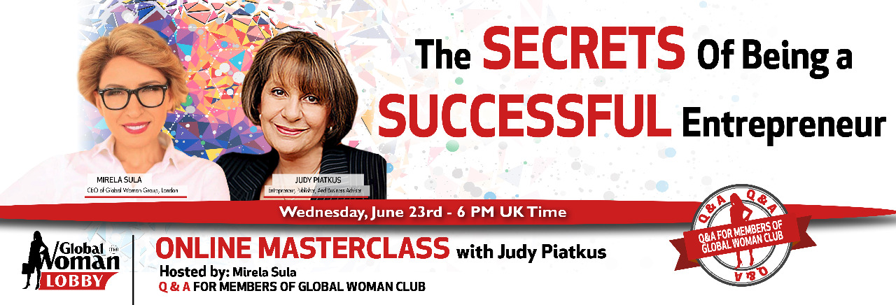 Online Masterclass with Judy Piatkus