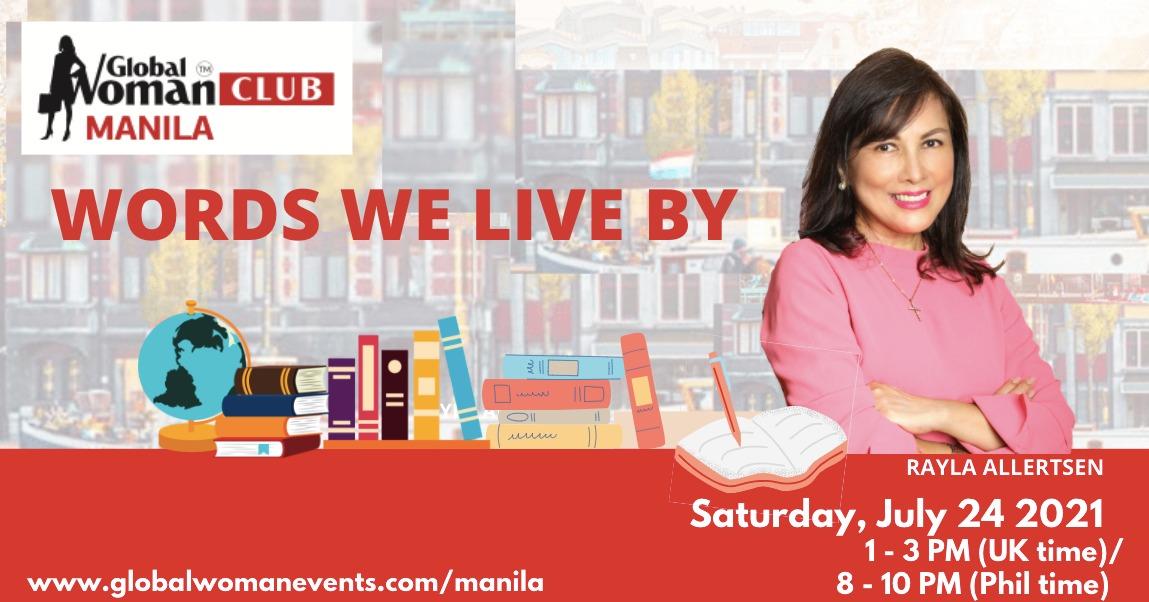 GLOBAL WOMAN CLUB MANILA: BUSINESS NETWORKING MEETING - JULY