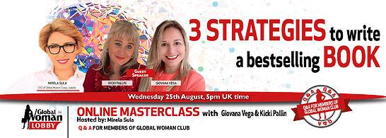 Online Masterclass with Giovana Vega & Kicki Pallin