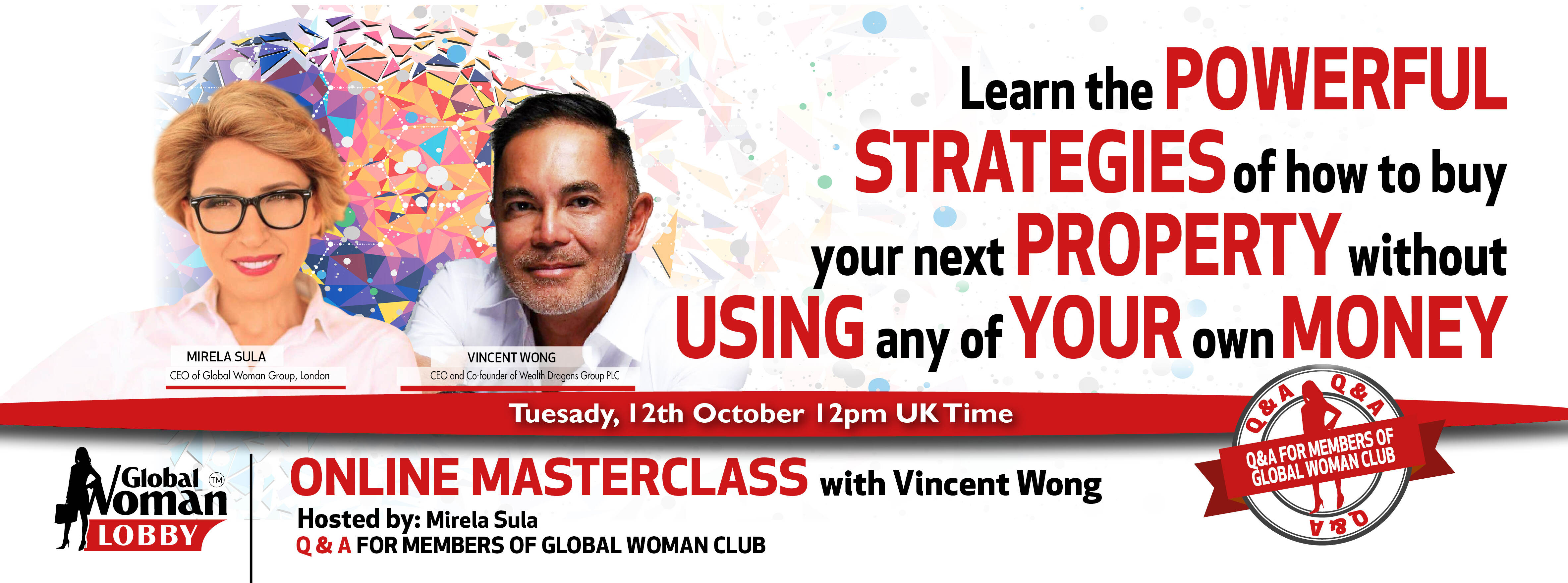 Online Masterclass with Vincent Wong
