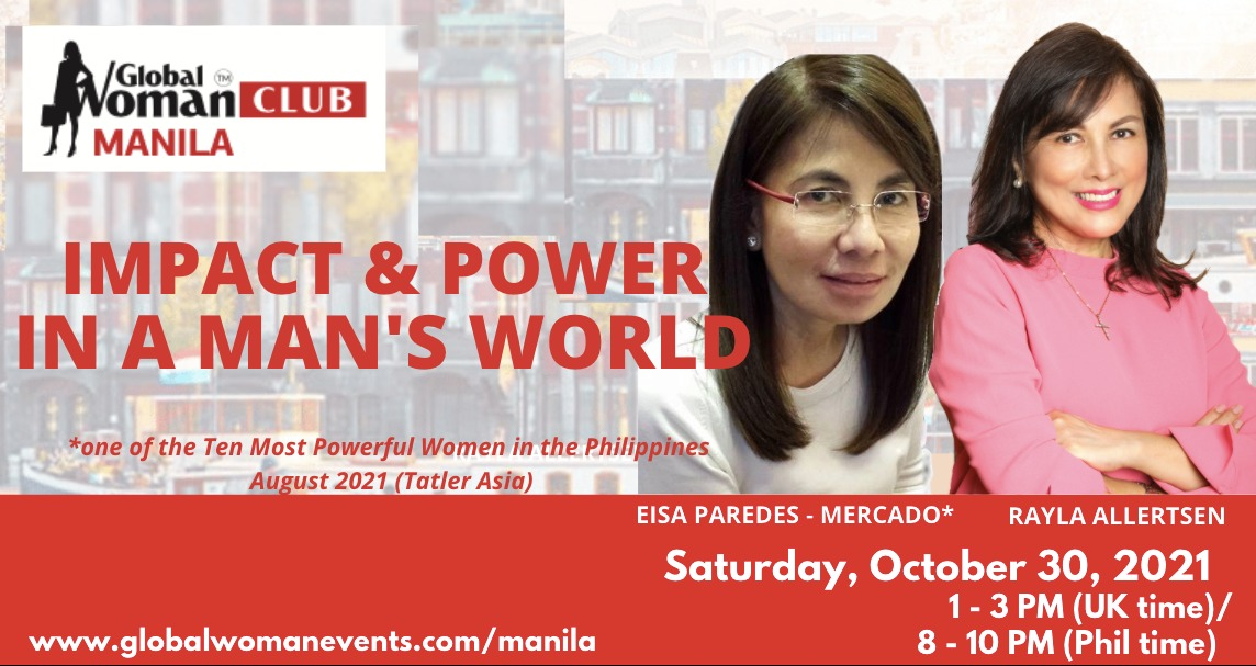 GLOBAL WOMAN CLUB MANILA: BUSINESS NETWORKING MEETING - OCTOBER