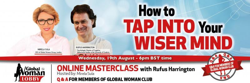 Online Masterclass with Rufus Harrington