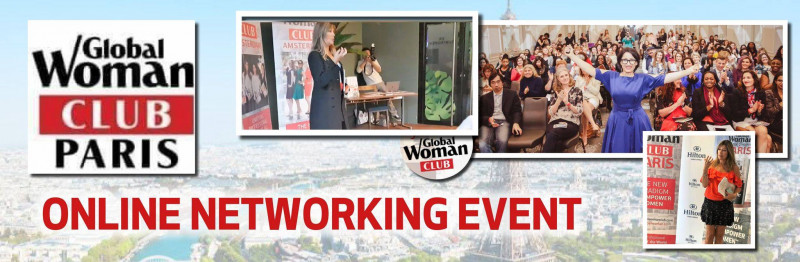 GLOBAL WOMAN CLUB PARIS: BUSINESS NETWORKING MEETING - NOVEMBER Cover Image