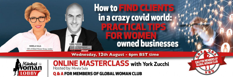 Online Masterclass with York Zucchi