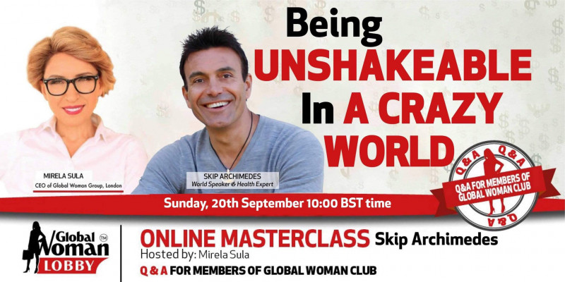 Online Masterclass with Skip Archimedes