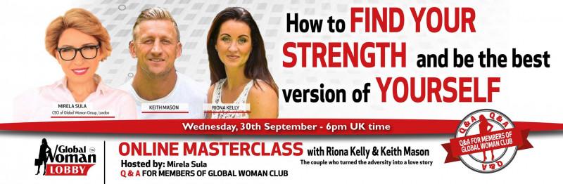 Online Masterclass with Riona Kelly & Keith Mason