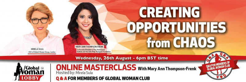 Online Masterclass with Mary Ann Thompson-Frenk