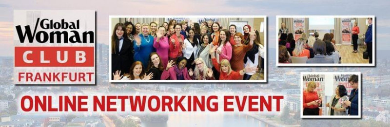 THE GLOBAL WOMAN CLUB FRANKFURT ONLINE NETWORKING EVENT Cover Image