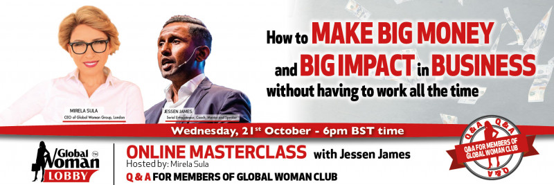 Online Masterclass with Jessen James Cover Image