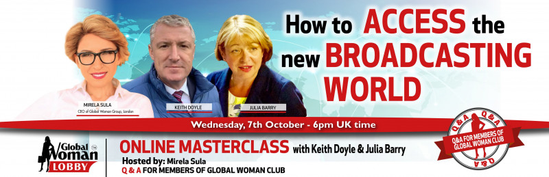 Online Masterclass with Keith Doyle & Julia Barry