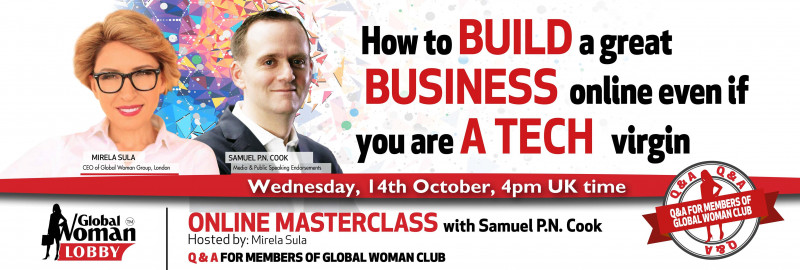 Online Masterclass with Samuel P.N. Cook