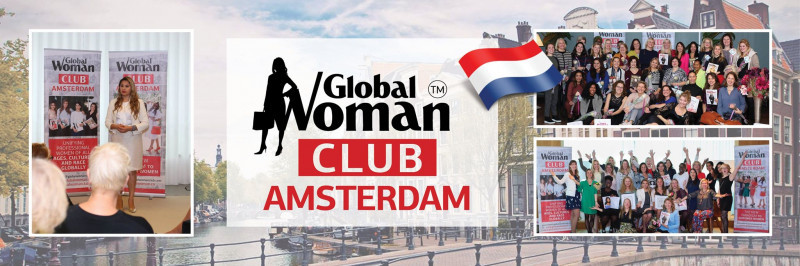 GLOBAL WOMAN CLUB Amsterdam : BUSINESS NETWORKING MEETING - September Cover Image
