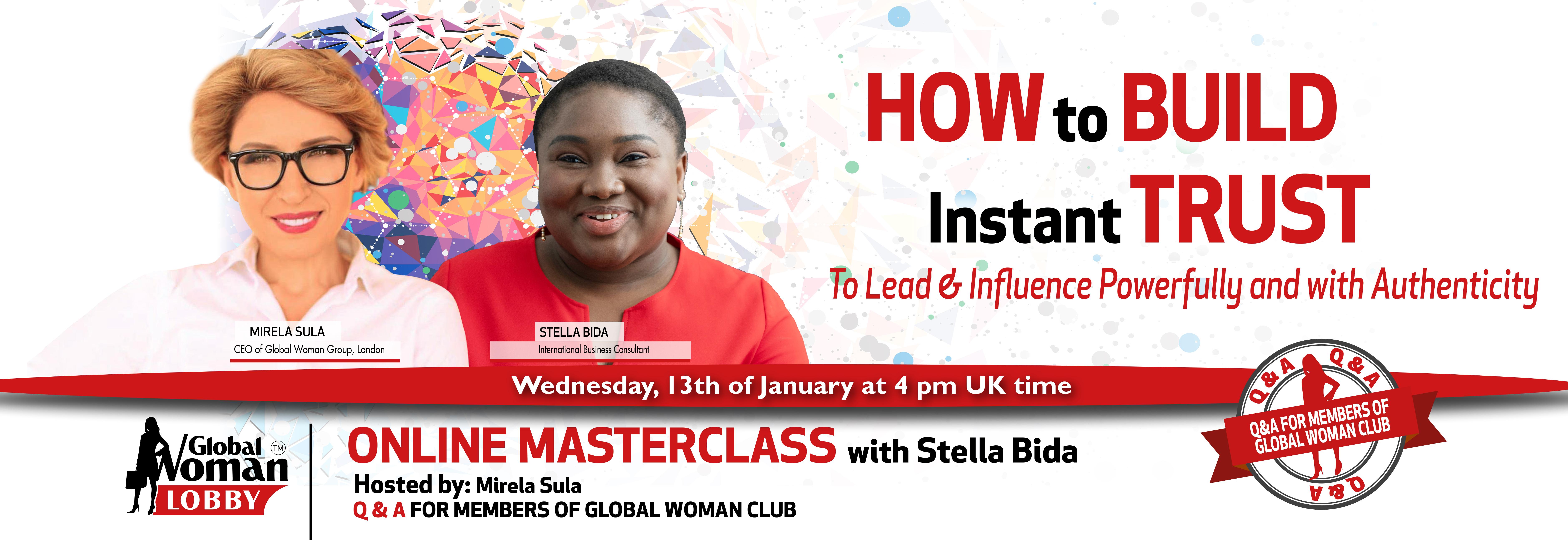 Online Masterclass with Stella Bida